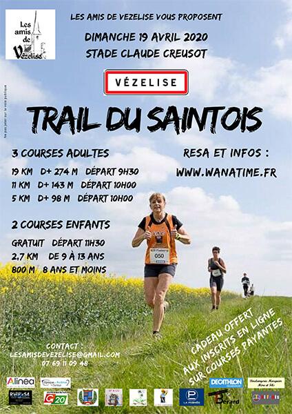 Les Amis de Vézelise – Trail du Saintois le 19 avril