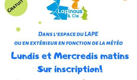Réouverture Lapinous & Cie