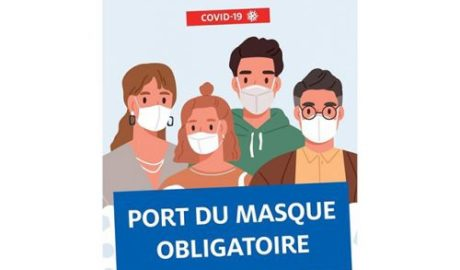 Port du masque obligatoire aux abords des établissements scolaires