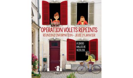 Opération « Volets Repeints »