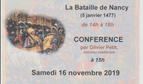 Grenier des Halles – exposition sur la Bataille de Nancy