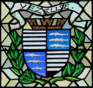 Blason de Vézelise - Vitraux de l'église de Vézelise